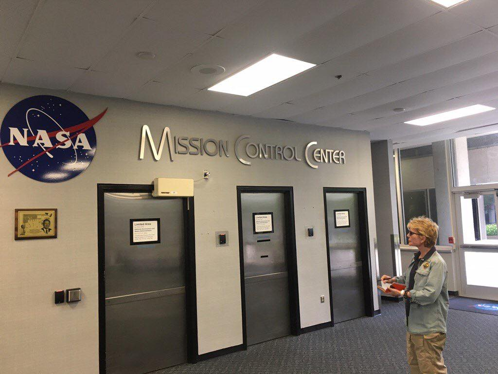 06.26.17.Busy day at NASA's Johnson Space Center