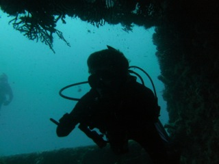 DivingAShipwreck